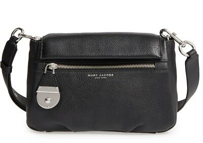 Marc Jacobs The Standard Mini Leather Shoulder Crossbody Bag Black MSRP  375 4ccec5f01d33c