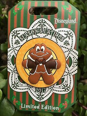 Disney Season's Eatings Pin MR TOAD 2017 Gingerbread Disneyland LE3000