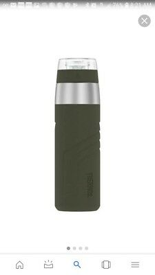 Thermos Element5 Insulated Stainless Steel Water Bottle Drink Tumbler 20oz Green