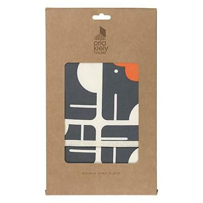 Orla Kiely Elephant Double Oven Glove - Multi colour - Made in Portugal