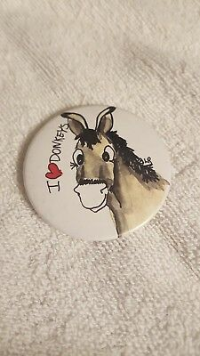 Magnet MINIATURE DONKEY hand-drawn artwork