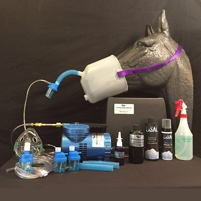 Silver Horse Care Blue Compressor Equine Respiratory Kit