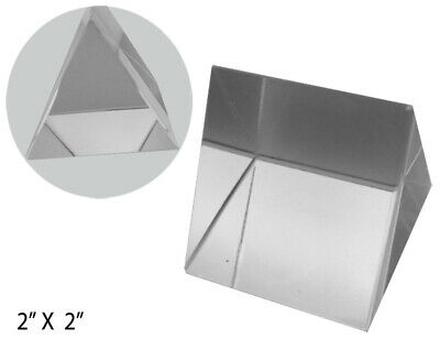"""Optical Glass Triangular Prism, 2"""" x 2"""" (Pack of: 1) - PP-06253"""