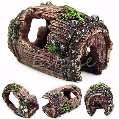 Aquarium Rockery Ornament Fish Tank Hiding Cave Mountain Landscape Decoration