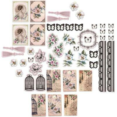 Ultimate Crafts Magnolia Lane Ephemera Die-Cuts