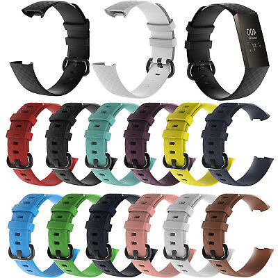 Replacement Sport Wrist Band Straps for Fitbit Charge 3 Fitness Activity Tracker