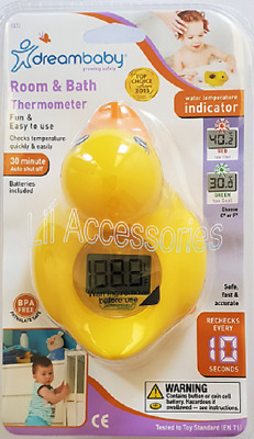 Dreambaby Duck Room & Bath Thermometer
