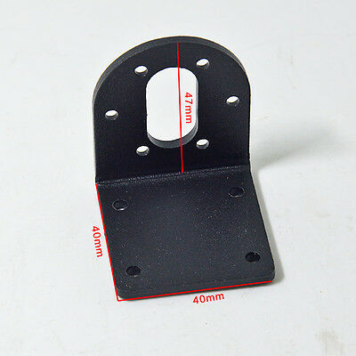 1PCS L-Shaped Fixed Holder 37mm Micro DC Gear Motor Mounting Bracket with Screws