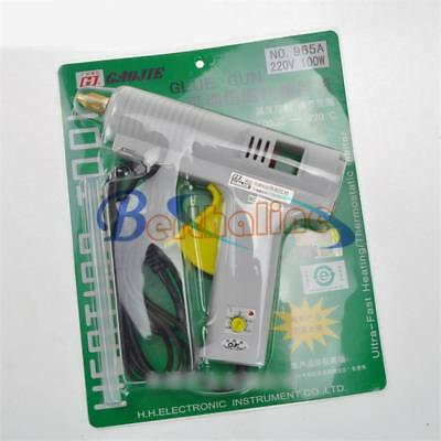 New 965A Adjustable thermostatic hot glue gun 100W 220V 50Hz