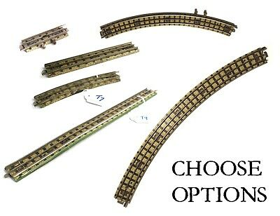 Hornby Dublo 3-rail track curves straights CHOOSE OPTIONS very good condition