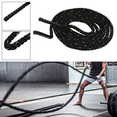 Battle Rope 38mm Battling Sport Bootcamp Gym Exercise Fitness Training UKY5
