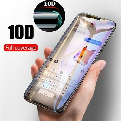 10D Curved Edge FULL Tempered Glass for iPhone XS Max XR Screen Protector Film