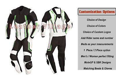 2018 New Motorbike Motorcycle Leather Suit Custom Made Racing Leather Suit