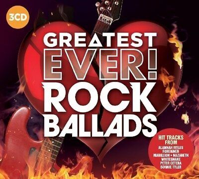 Greatest Ever! Rock Ballads - Various Artists (Album) [CD]
