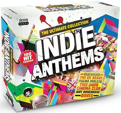 Indie Anthems: The Ultimate Collection - Various Artists (Box Set) [CD]