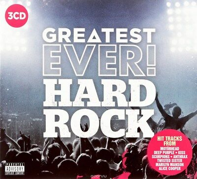 Greatest Ever! Hard Rock - Various Artists (Album) [CD]