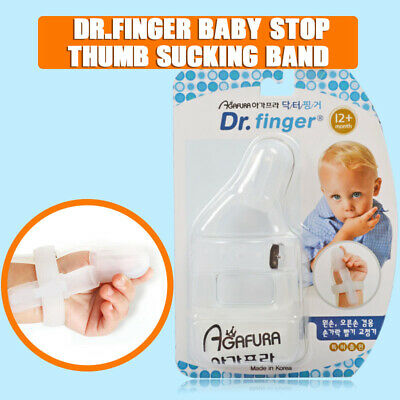 Dr.finger Baby Kids Safety Thumb Sucking Stop Finger Guard Protect Silicone Tool