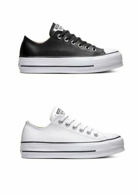 Converse All Star OX Platform Leather