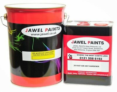 2k Acrylic Car Paint 7.5 Litre Kit Gloss ROYAL MAIL POST OFFICE RED