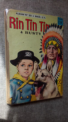 Rin Tin Tin & Rusty album n° 20 regroupant les n° 77, 78, 79