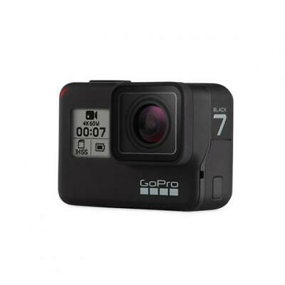 GoPro Hero 7 Black Action Camera 4K Video, Waterproof Design (10M), Wi-Fi and Bl