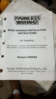 willys jeep wiring harness 1946 49 cj2a horn on fender with turn rh picclick com 1946 willys jeep wiring harness 1946 willys jeep wiring harness