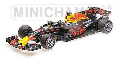 Red Bull Racing Rb13 Daniel Ricciardo Mexican Gp 2017 1:18 Model MINICHAMPS