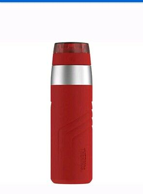 Thermos Element5 Insulated Stainless Steel Direct Travel Drink Bottle 20oz Red