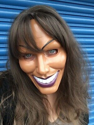 The Purge Mask Grin Halloween Film Movie Horror Smiling Woman OR Man SECONDS
