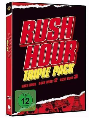 Rush Hour 1+2+3 Trilogy Triple Pack  - Jackie Chan, C. Tucker, B. Ratner | 3 DVD