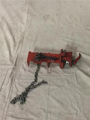 """Ridgid No. 464 Flange Pipe Welding Vise, 2-1/2"""" to 8"""" Pipe"""