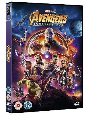 AVENGERS INFINITY WAR DVD Brand New Sealed Fast & Quick Postage