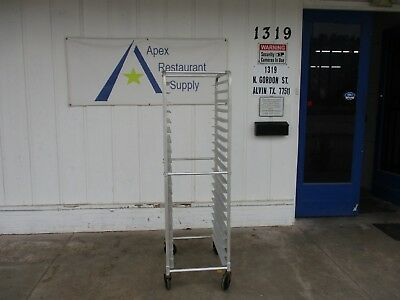 Aluminum Full Size Sheet Pan Rack w/Casters Up to 20 Pans Fit #3543