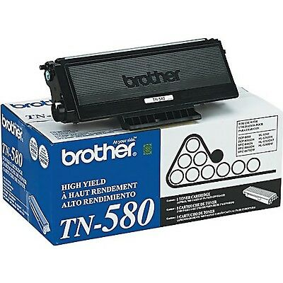 OEM Genuine Brother TN580 Black High Yield Toner Cartridge DCP MFC HL Series NIO