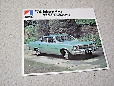 1974 Canadian Amc Matador Sales Brochure....