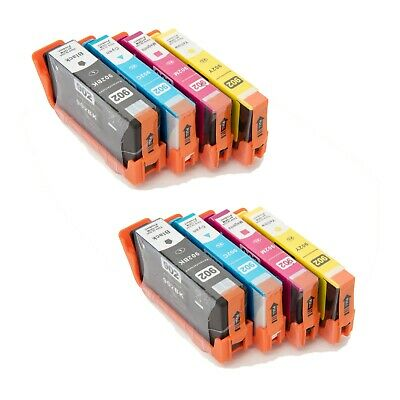 4PK HP 902 902XL Black and Color Cartridges for HP OfficeJet Pro 6960 6968 6970