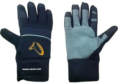 Savage Gear Winter Thermo Glove M Polarfleece Neoprenbund 100% Wasserdicht NEW