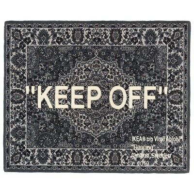 Ikea X Off White Rug Keep Off Eur 1 700 00 Picclick Fr
