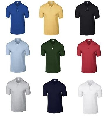 2018 Men Casual Polo T Shirt Fitness Muscle Bodybuilding Solid Workout Basic Tee