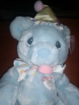 Precious Moments Hugs for the Soul Bear ~ PUT ON A HAPPY FACE #680850P new w tag