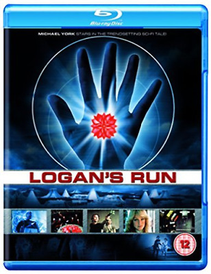 Logans Run (UK IMPORT) BLU-RAY NEW