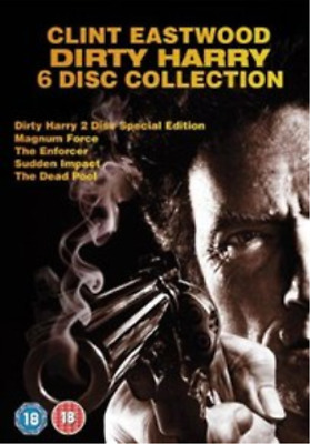 Clint Eastwood, Darwin Gillett-Dirty Harry Collection (UK IMPORT) DVD NEW