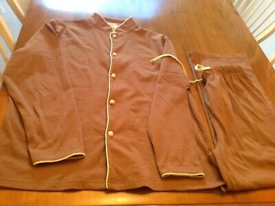 Cathay Pacific First Class Pajama Set Size Small Excellent