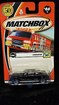 New Matchbox 50 Years Limousine #1 66/75 2001 Black (M-2)