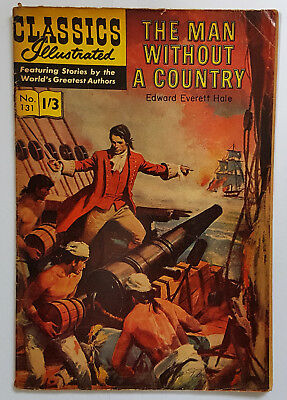 Vintage British Classics Illustrated:A Man Without A Country/Hale 131 HRN136 1/3