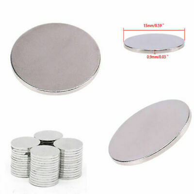 5-100X Super Strong Round Disc 15*0.9mm Magnet Rare Earth Neodymium Magnets N52