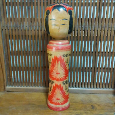 Kokeshi Japanese traditional crafts showa retro cute vintage rare popular F / S!