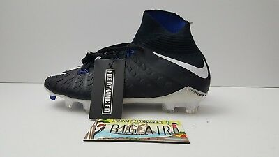 2f4f13d14e3 Nike JR Hypervenom Phantom 3 DF FG Youth Kids Soccer Cleats (882087 002) 4.5