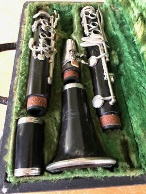 A. Fontaine Clarinet - Band Music Instrument Jazz Songs Standards Frank Sinatra