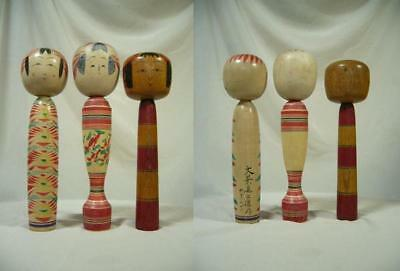 Kokeshi japanese traditional crafts JAPAN toy rare retro beutiful F/S*